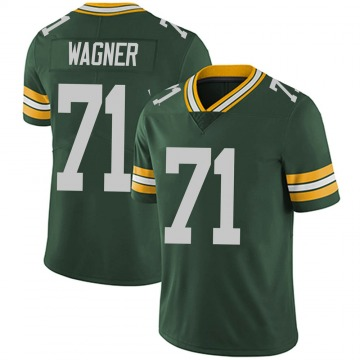 Men's Rick Wagner Green Bay Packers Limited Green Team Color Vapor Untouchable Jersey