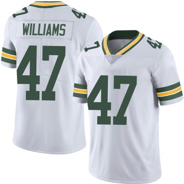 Men's Tim Williams Green Bay Packers Limited White Vapor Untouchable Jersey