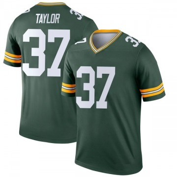 Youth Aaron Taylor Green Bay Packers Legend Green Jersey