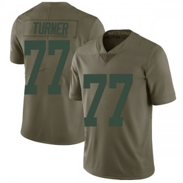 Youth Billy Turner Green Bay Packers Limited Green 2017 Salute to Service Jersey