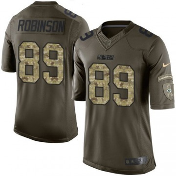 Youth Dave Robinson Green Bay Packers Limited Green Salute to Service Jersey