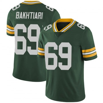 Youth David Bakhtiari Green Bay Packers Limited Green Team Color Vapor Untouchable Jersey