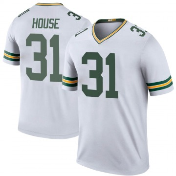 Youth Davon House Green Bay Packers Legend White Color Rush Jersey