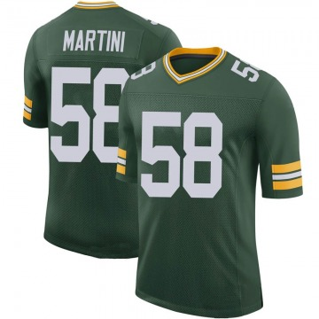 Youth Greer Martini Green Bay Packers Limited Green 100th Vapor Jersey