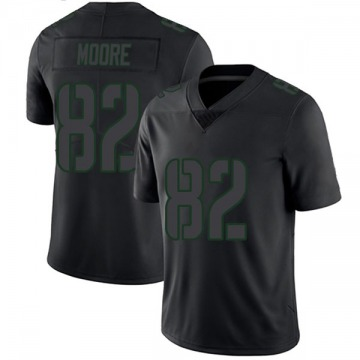 Youth J'Mon Moore Green Bay Packers Limited Black Impact Jersey