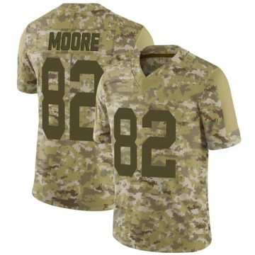Youth J'Mon Moore Green Bay Packers Limited Camo 2018 Salute to Service Jersey