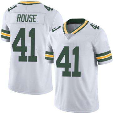 Youth Nydair Rouse Green Bay Packers Limited White Vapor Untouchable Jersey