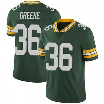 Youth Raven Greene Green Bay Packers Limited Green Team Color Vapor Untouchable Jersey