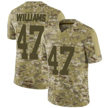 Youth Tim Williams Green Bay Packers Limited Camo 2018 Salute to Service Jersey